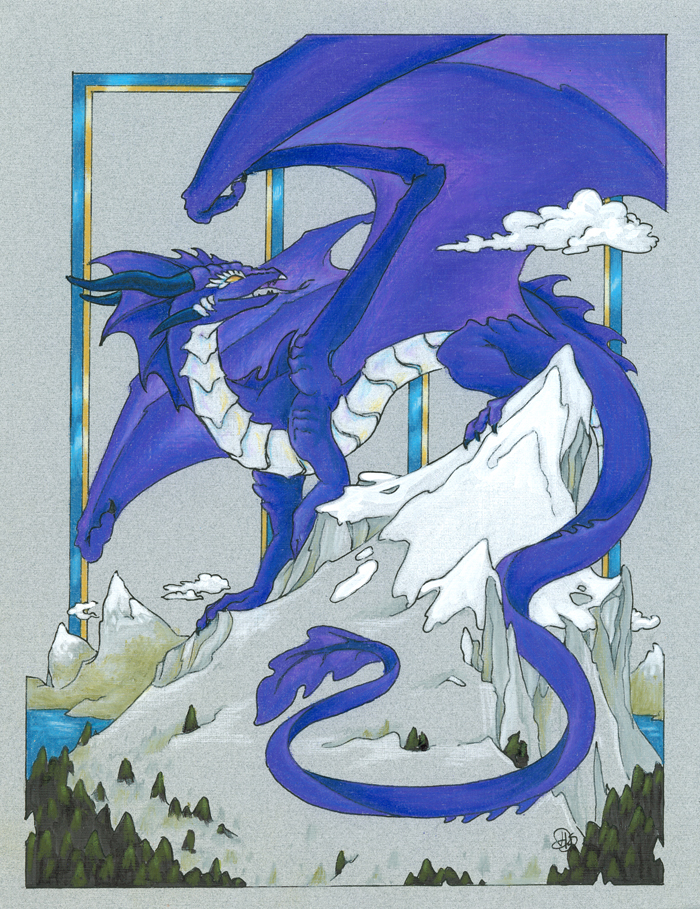 Exsia Mountain Dragon